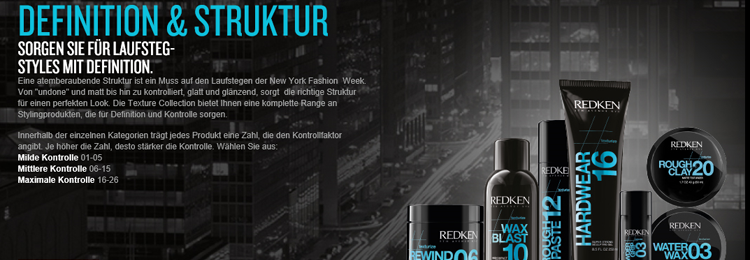 Redken Styling - Definition & Struktur